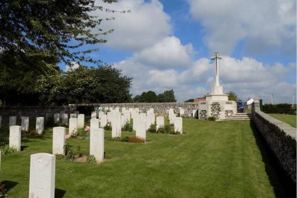 Ervillers Military Cemetery
