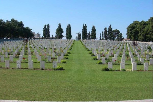 Mikra British Cemetery, Kalamaria
