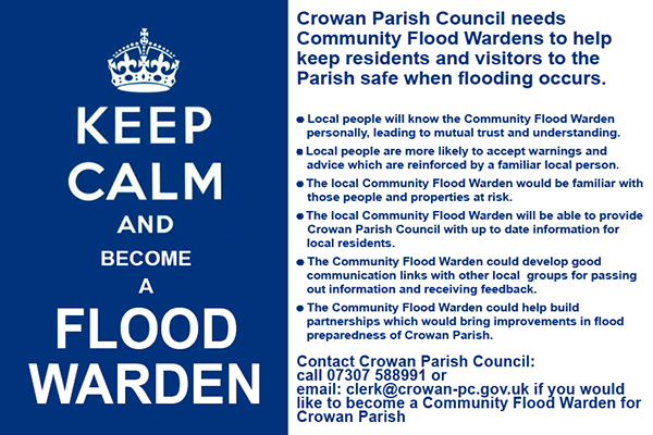 Flood Wardens Wanted